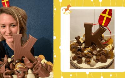 Taart van Sinterklaassnoep | Red de restjes