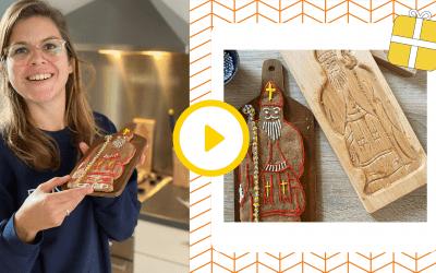 Speculaaspop voor Sinterklaas