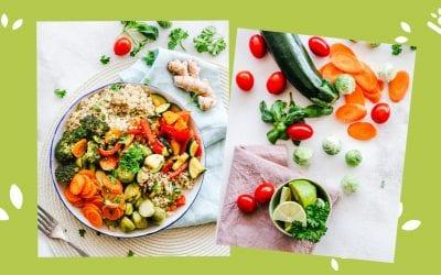 Groenteschotel met couscous