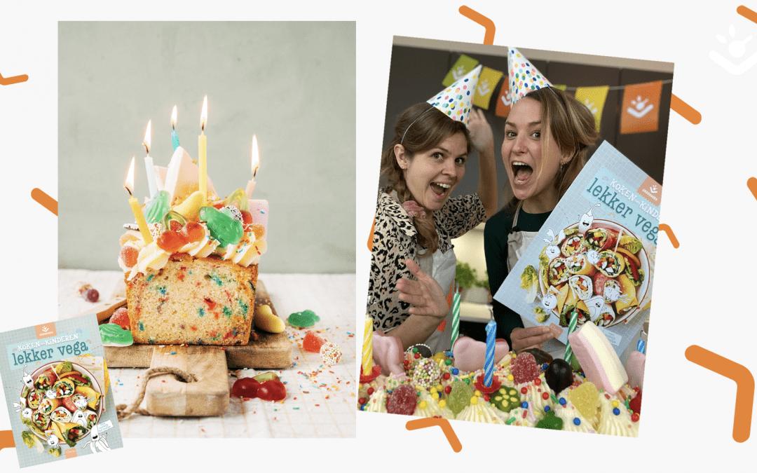 Funfetti-cake: Lekker Veggie