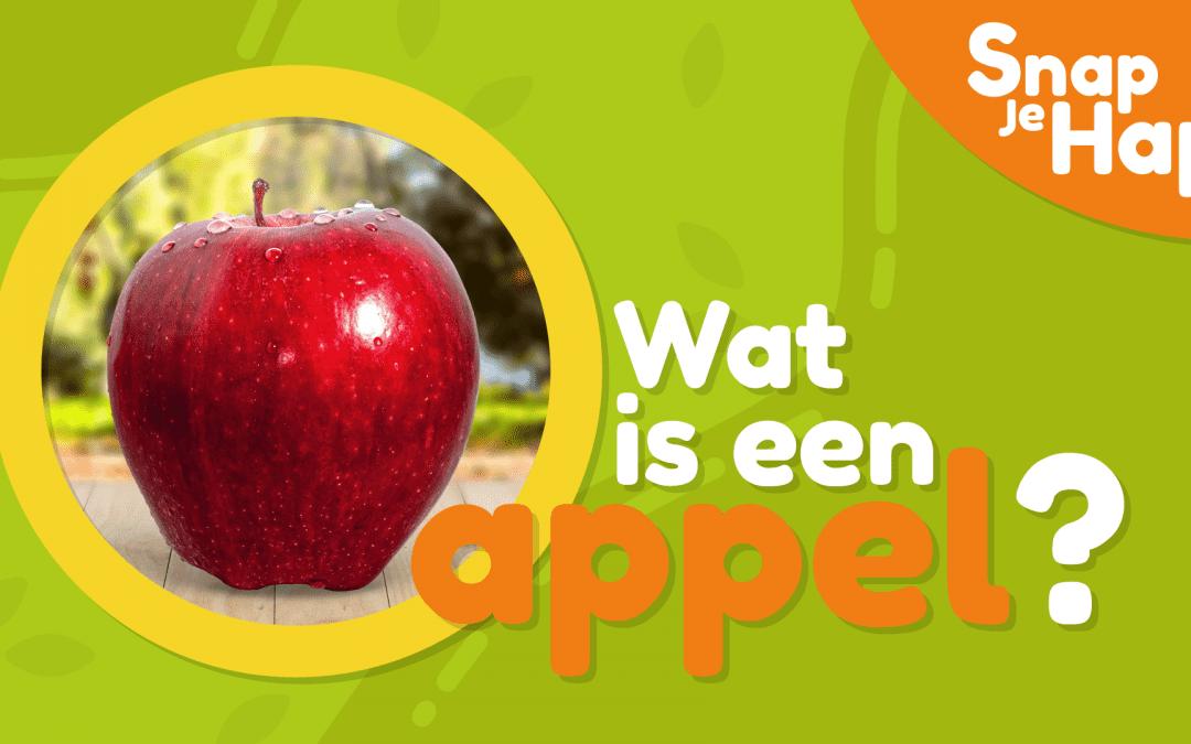 Wat is een appel? | Snap je hap